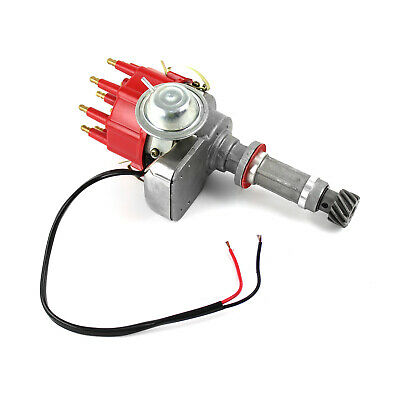 Holden 253 304 308 Ready to Run Electronic Distributor (Vacuum) - Red Cap