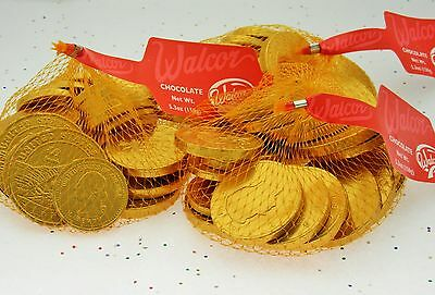 Walcor Chocolate Coins Lot of 3 Hanukkah Christmas Holiday Candy BF