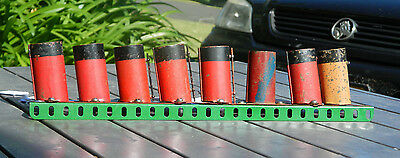 Meccano Part No 138  Ships Funnels  Batch of eight
