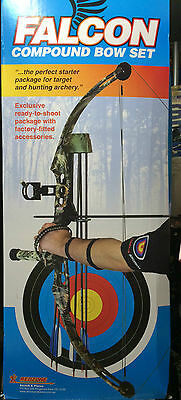 NEW REDZONE Falcon Compound Bow COMPLETE PACKAGE - 45lb Archery+ Hunting + BAG