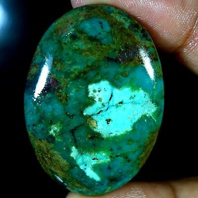 77.50Cts. 100% NATURAL UNTREATED TIBET TURQUOISE OVAL CABOCHON QUALITY GEMSTONES