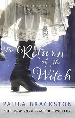 Return of the Witch by Paula Brackston Paperback Book