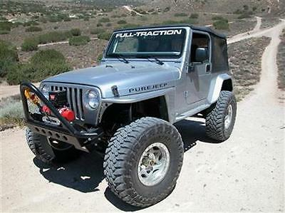 """kit parafanghini x JEEP TJ WRANGLER ROCK CRAWLING """"WILLYS STYLE"""""""