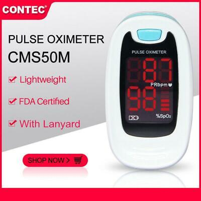 With Case,New Fingertip Pulse Oximeter LED Spo2 Puls Heart Rate monitor,Oximetry