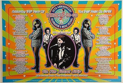 35 Year Celebration Music Festival Whisky a Go Go 13x19 UNSIGNED Poster