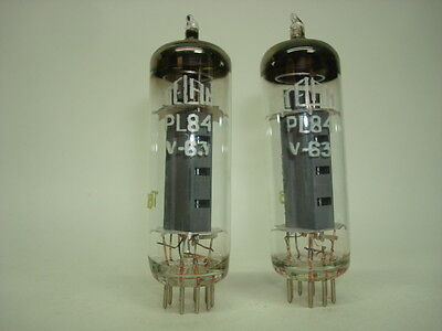 10 x PL84  TUBE. PRINT AND WHITHOUT PRINT. NOS TUBE. RCES136