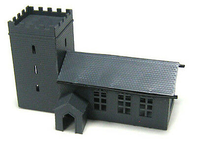 Kestrel N Gauge Railway/Buildings/Scenic Plastic Kit No: GMKD04 Church + Porch .