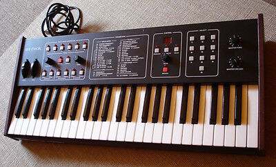 Sequential Circuits Six-Trak Analog Synthesizer Fully Working Serial No. 001784