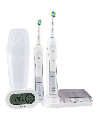 NEW Oral B Triumph Dual Handle Electric Toothbrush