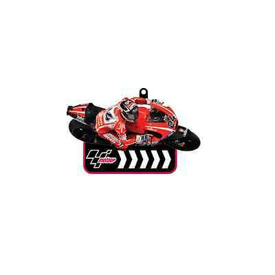 Motogp Dovizioso Keyring Key Fob Holder Motorcycle Moto Gp #04