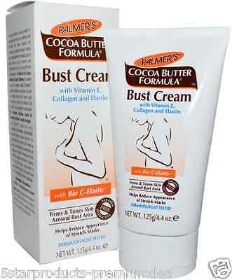 New Palmer's Cocoa Butter Formula Bust Cream With Bio C-Elaste Daily Skin Care