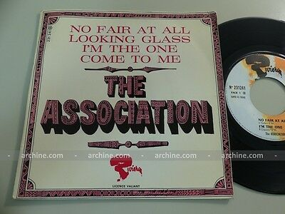 """THE ASSOCIATION no fair at all ~ French 45 tours EP 7"""" (BIEM - 1967)"""