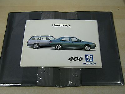 Peugeot 406 Owners Manual Handbook Pack 1998-2005 Inc Estates