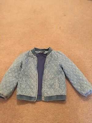 Cute Denim Bomber Jacket From Gap- Age 3!