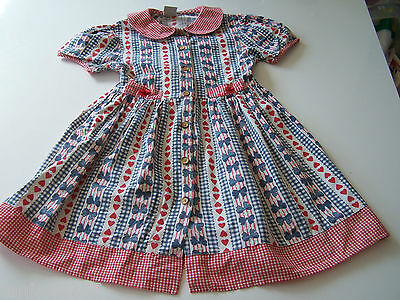 Super süsses Kleid  True Vintage Rockabilly Baumwolle  B101/12