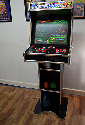 Amazing Bartop Arcade with stand for retro gaming