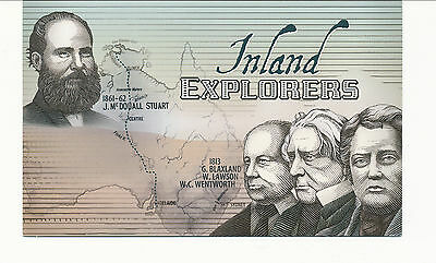 Australian Stamps: 2012 Inland Explorers Post Office Pack