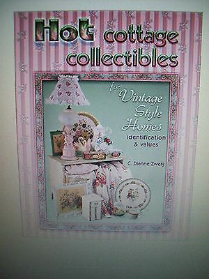 COTTAGE $$ PRICE GUIDE COLLECTOR'S BOOK chenille quilts linens tables chairs bed