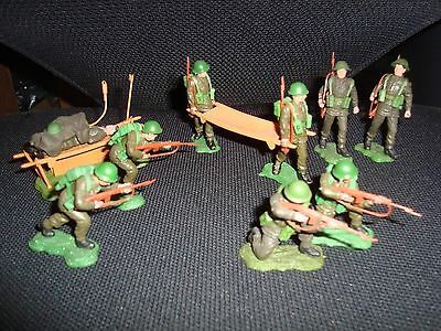 Britains Swoppets Modern British Infantry Group #1.