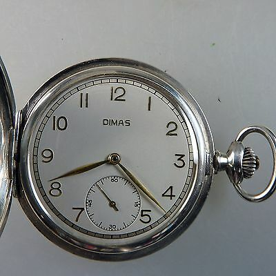 Savonette Herrentaschenuhr Favor Dimas für MAN datiert 1941 (39450)
