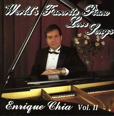 Enrique Chia - World's Favorite Piano Love Songs 2 [New CD]