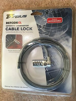 Targums Combination Notebook Cable Lock