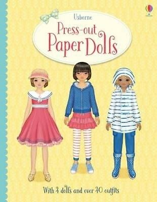 Press-Out Paper Dolls by Fiona Watt Hardcover Book