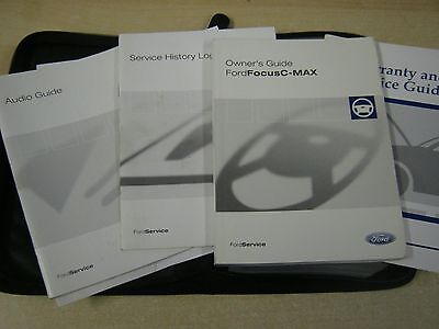 Ford Focus  C Max Owners Manual -Owners Handbook 2003-2008 Inc Service Book