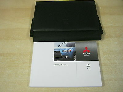 Mitsubishi Asx Owners Manual Handbook Book 2010-2013