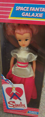 Rare Vintage Pedigree Sindy BOXED Complete 1984 Space Fantasy Sindy NRFB
