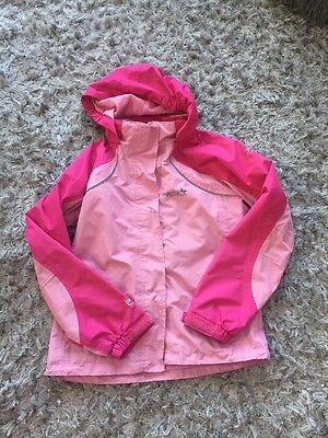 Cute Pink Regatta Coat! Perfect For Wind rain And Snow!! Age 9-10!