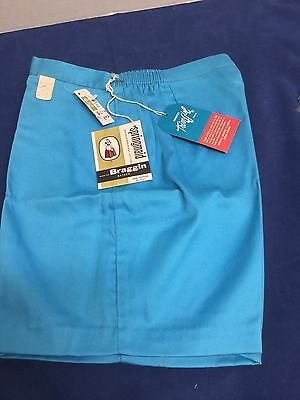 Vintage Girl Springmaid Blue Shorts 1950S Brand-New With Tags Size 10 1/2