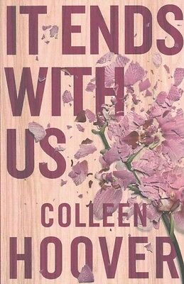It Ends With Us by Colleen Hoover Paperback Book