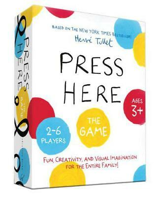 Press Here Game (Herve Tullet) by Herve Tullet | Hardcover Book | 9781452137360