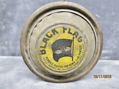 Vintage Black Flag Bug Spray Insecticide Bellow Can