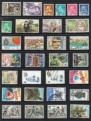 SPAIN Stamp Collection majority USED Ref:QD555