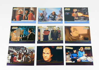 2000 Skybox Star Trek TNG Profiles First Contacts Chase Card Set (F1-F9) Nm/Mt