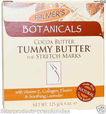 New Palmer's Botanicals Tummy Butter For Stretch Marks Cocoa Soothing Daily Care