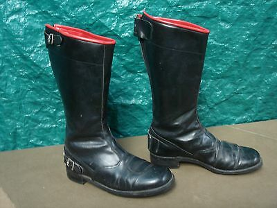 vintage english made Catworth motorcycle boots size 11