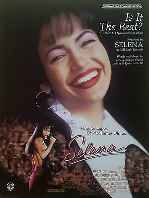 Selena: Is It The Beat? (Piano/Vocal/Guitar Sheet Music) - RARE, MINT CONDITION!