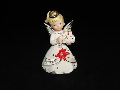 Chase J-6736  December Christmas Angel Carrying Gifts Figurine