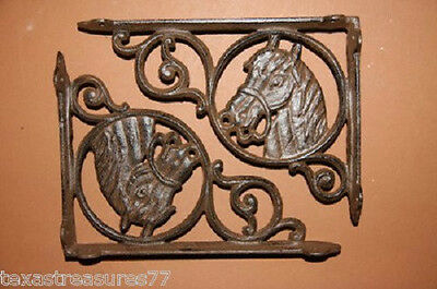 (2), Horse Head,shelf Brackets,corbels, Western Decor, Country Decor, B-4
