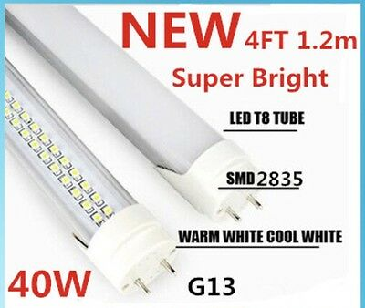 Lot of 30 Pieces 4FT T8 40W Super Bright Double Row LED Tube Light F32T8 F40T12