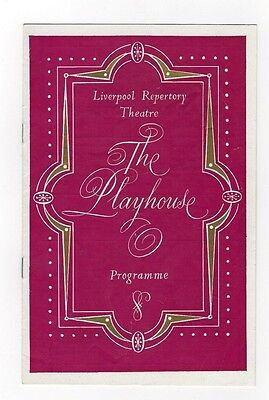 Programme  Liverpool Repertory Theatre 1960 - Juno and the Paycock - John Thaw