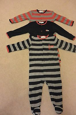Baby boys' 3-pack Sleepsuits the Essential one/like Next, 12-18 months