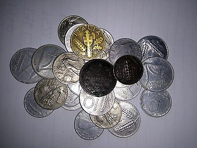 Joblot of 23 Old Italian Coins from 1867 onwards - Italy