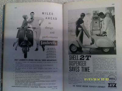 Scooters and Mopeds book ( second edition 1961)