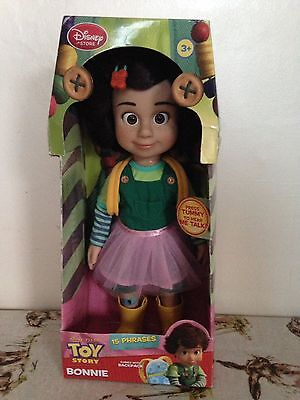 Disney Store Exclusive Talking Bonnie Doll Toy Story Brand New In Box RARE