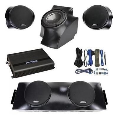 SSV Works 4 Speakers 1 Subwoofer Plus Amplifier/ Wiring Kit / Can Am Commander-5