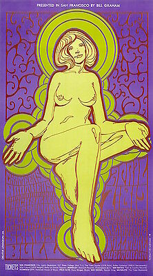 Quicksilver Chambers Brothers 1967 BG 58 ORIGINAL/MINT Fillmore Poster
